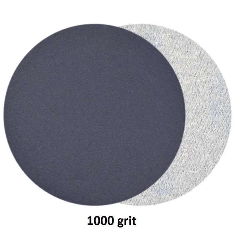 30 قطعة 3 بوصة شكل دائري الصنفرة الرطب/الجاف الرملي أقراص هوك وحلقة الرمال ورقة لوحة تلميع 800 1000 1200 1500 2000 3000 حصى