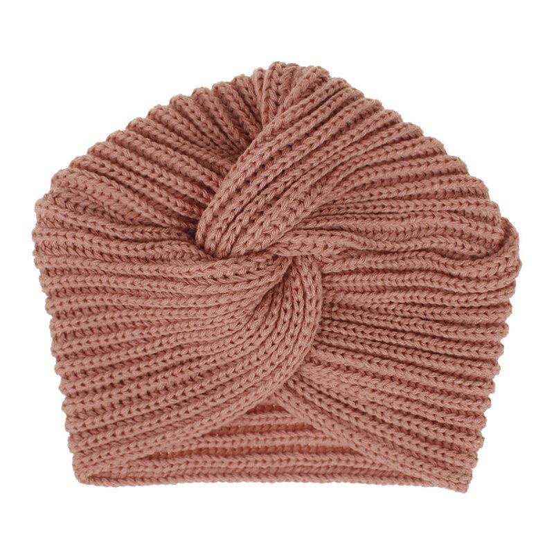 قبعة نسائية شتوية من الكروشيه ، أغطية رأس إسلامية ، قابلة للتمدد ، هندية ، قبعة منسوجة على شكل جمجمة ، عمامة ناعمة مضفرة