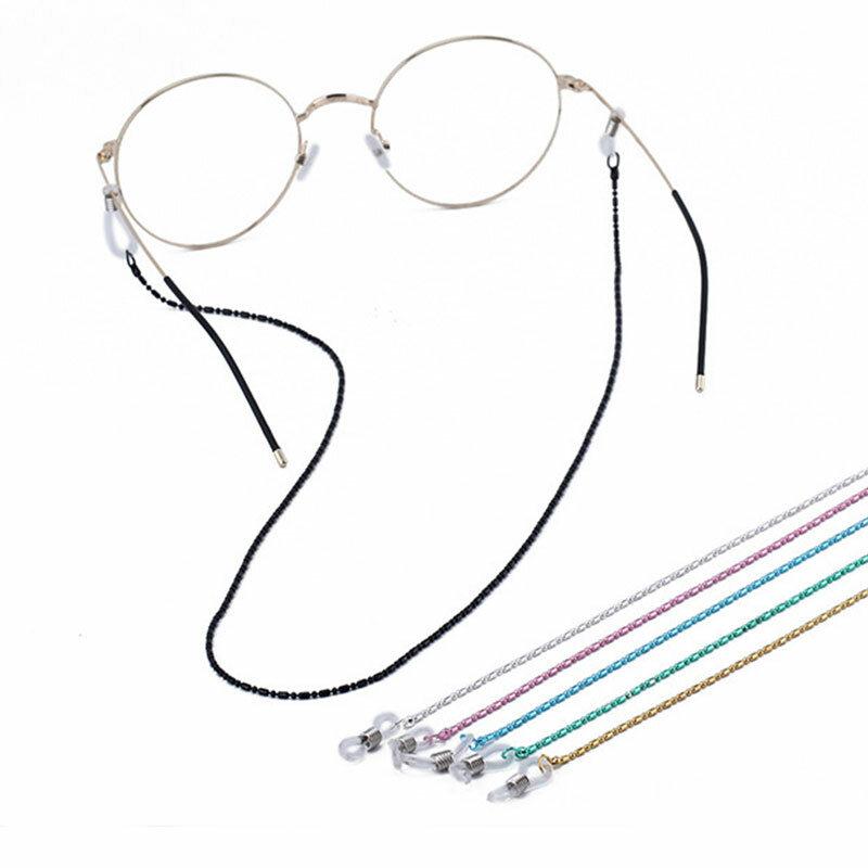 عدم الانزلاق النظارات الحبل للجنسين الرياضة نظارات النظارات الاكسسوارات نظارات الموضة الجميلة حبل سلسلة النظارة مريحة