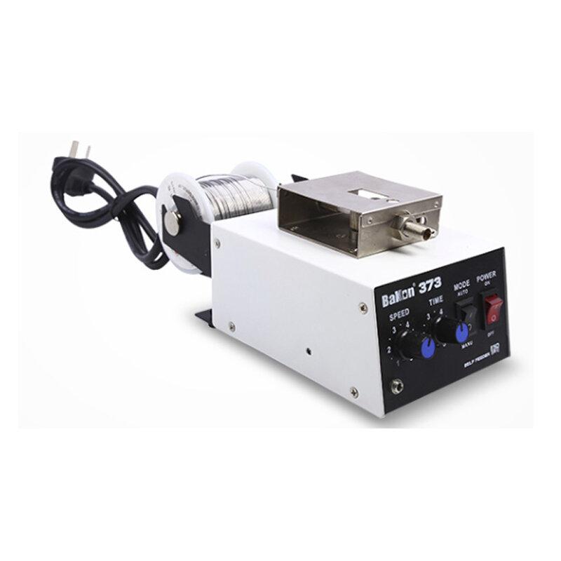 ماكينة سبائك اللحام الأوتوماتيكية BK373 220 فولت ماكينة سبائك اللحام الأوتوماتيكية بزر واحد مناسبة لمختلف مكاوي اللحام واللحام