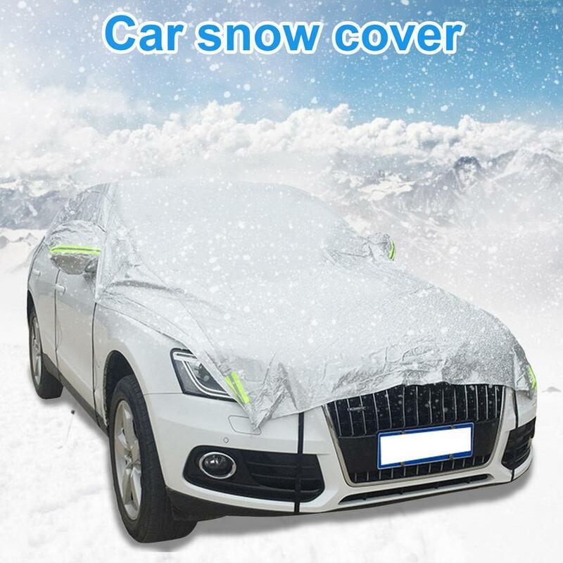 500x30 سنتيمتر منع الثلج الجليد درع الشمس الظل الغبار الصقيع تجميد زجاج سيارة غطاء حامي غطاء العالمي الخارجي اكسسوارات