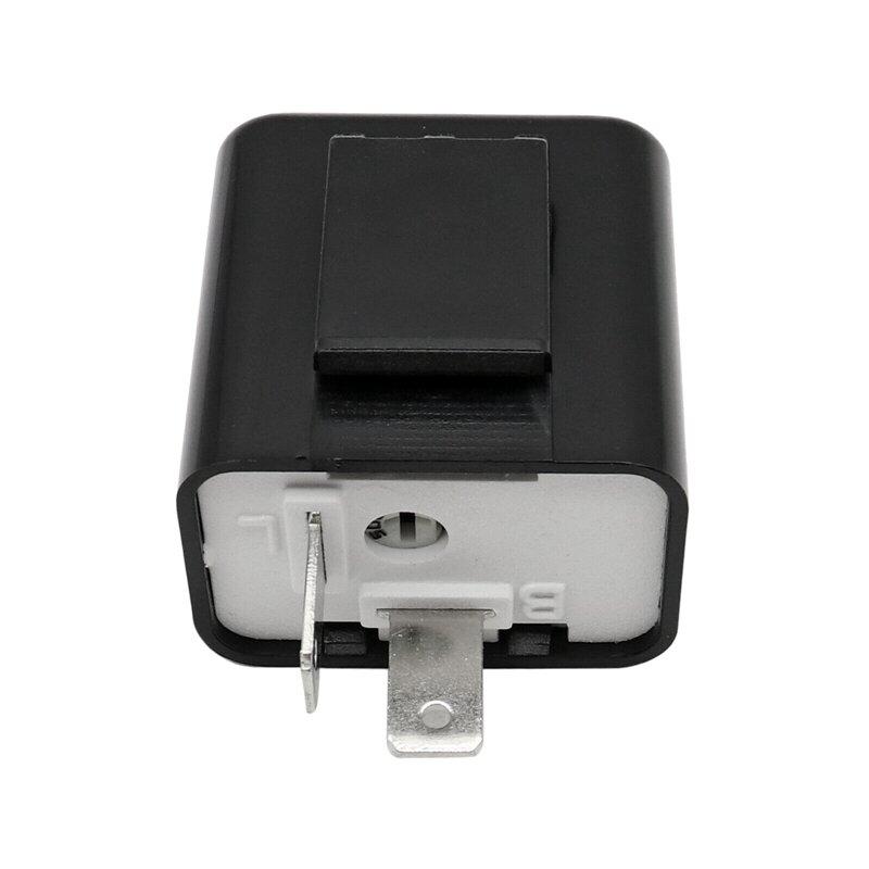 2-Pin LED مرحل ومضي 12 فولت قابل للتعديل تردد للدراجات النارية بدوره إشارة إصلاح الوامض أضواء مؤشر التبديلات
