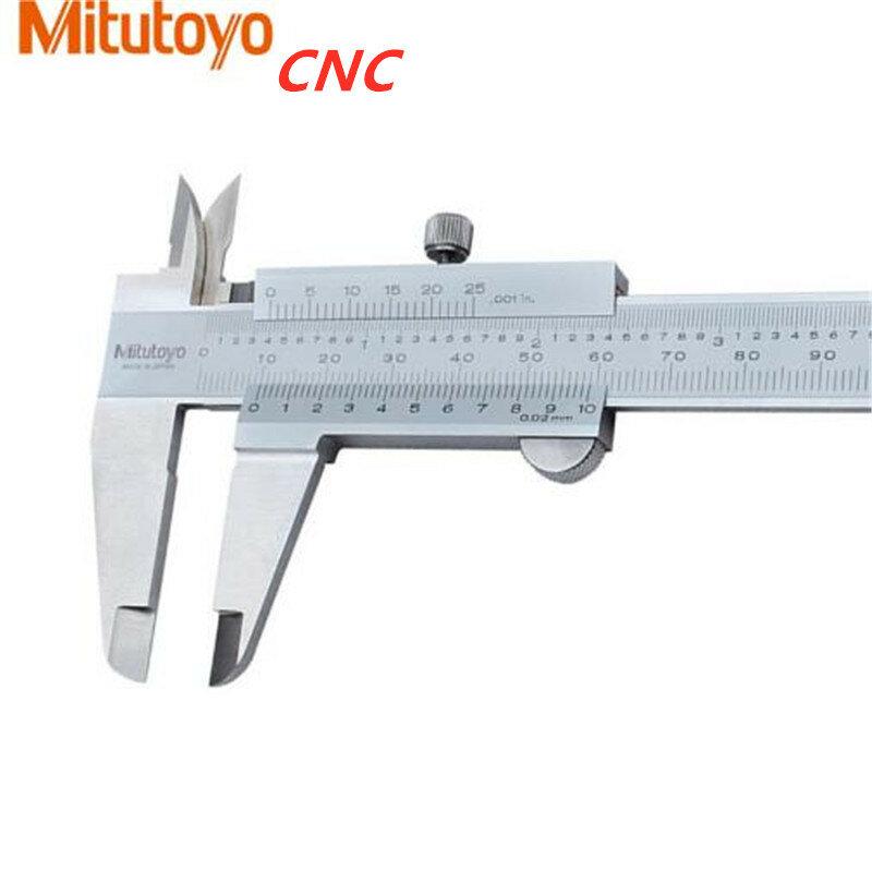 """Mitutoyo نك الفرجار الورنية الفرجار 6 """"0-150 مللي متر 530-104 1/128 الدقة 0.05 مللي متر قياس أدوات الفولاذ المقاوم للصدأ أدوات يدوية"""