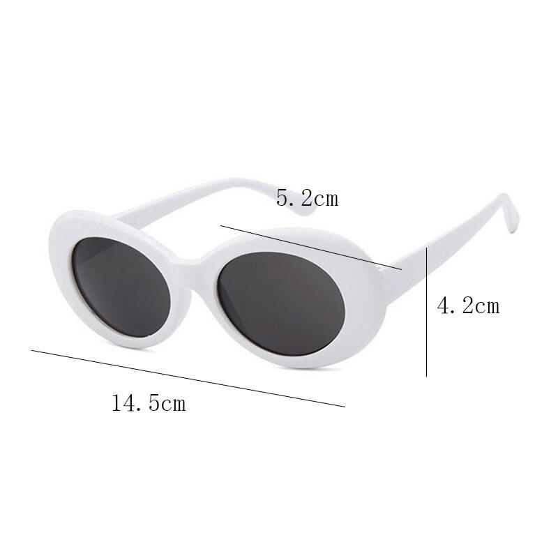 2021 حملق كورت محاولة ذلك نظارات البيضاوي النظارات الشمسية السيدات نظارات العصرية الساخن Vintage نظارات شمسية ريترو المرأة UV400 النظارات الشمسية