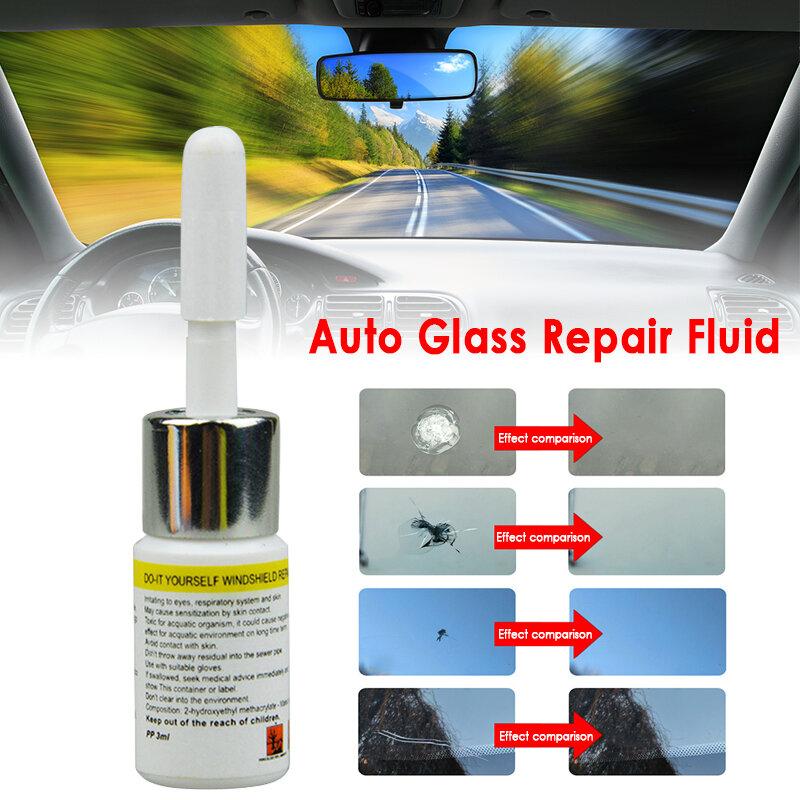 زجاج سيارة نافذة تصدع أداة إصلاح لتقوم بها بنفسك طقم تصليح النوافذ الزجاج علاج الغراء السيارات الزجاج خدش الكراك استعادة الطلاء الرعاية