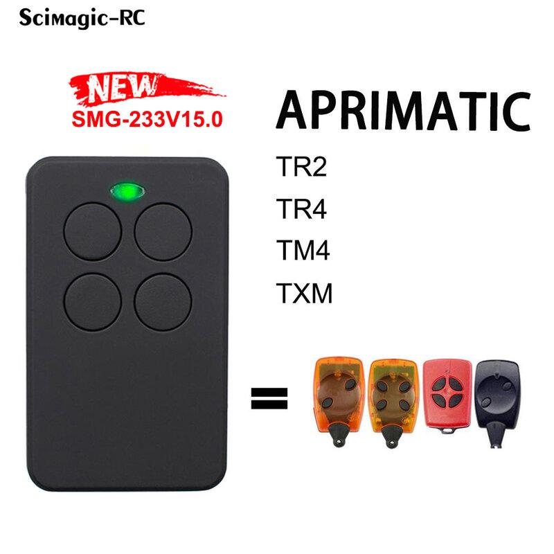 APRIMATIC TR2 TR4 TM4 TXM بوابة بالتحكم عن بعد APRIMATIC باب المرآب التحكم عن بعد 433MHz الارسال