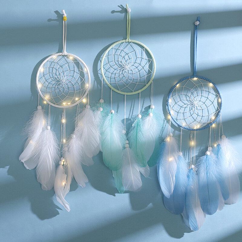 المنزل الديكور فتاة القلب غرفة قلادة بسيطة حلم الماسك ليلة صغيرة ضوء اليدوية جميل هدية عيد ميلاد الزفاف الديكور