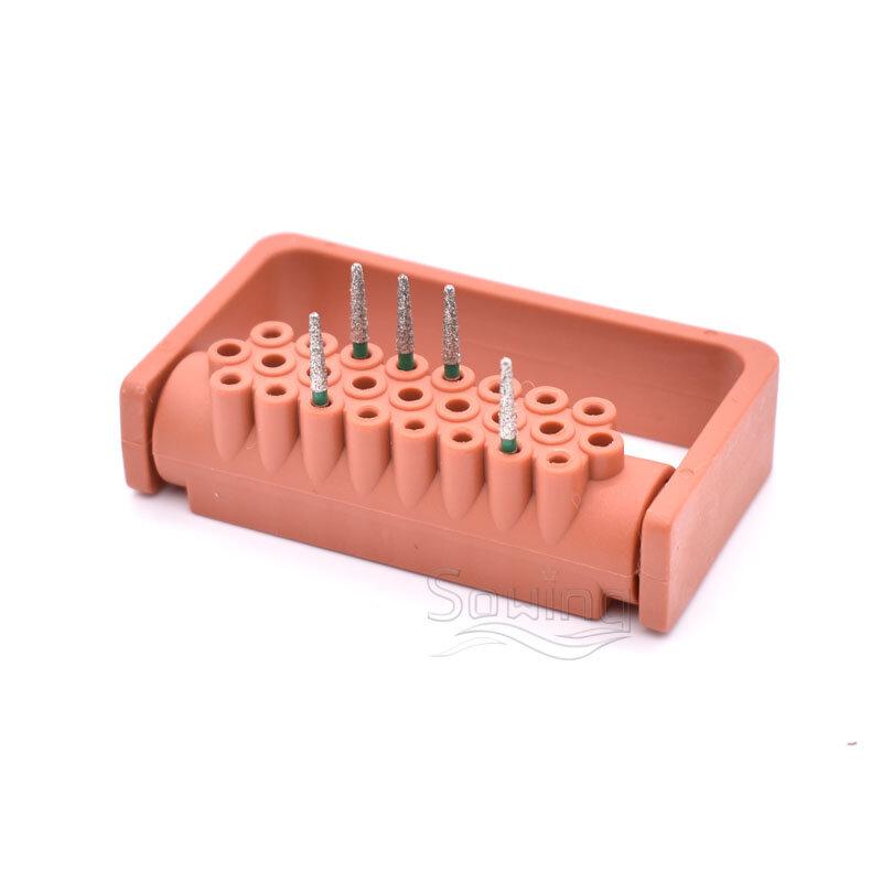 25 ثقوب أزيز ماس الأسنان الحفر التطهير و قبضة يد بسرعة عالية الأزيز حامل تخزين الأزيز حامل ل RA & FG الأزيز