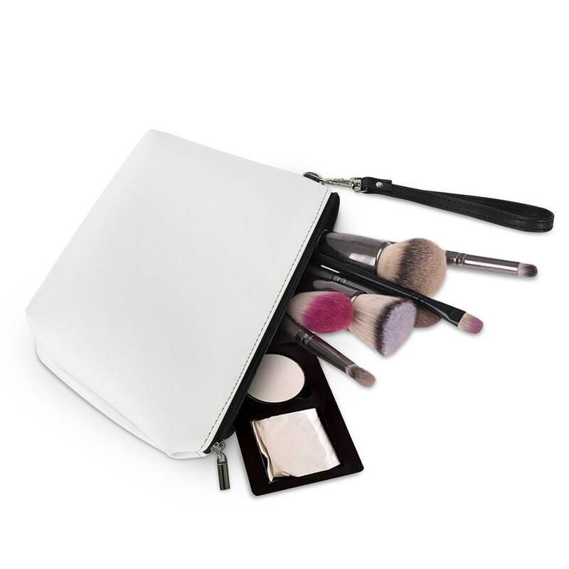 اين isart-حقيبة سفر مستحضرات التجميل النسائية بومرنان مطبوعة ، حقيبة مكياج ، حقيبة يد نسائية بسحاب ، حقائب مكياج صغيرة