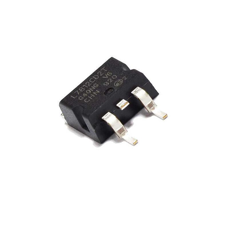 10 قطعة/الوحدة L7812CD2T L7812 L7812CD2T-TR L7812C إلى-263 جديد الأصلي IC شرائح MOSFET MOSFT TO263 ثلاثة محطة الجهد المنظم