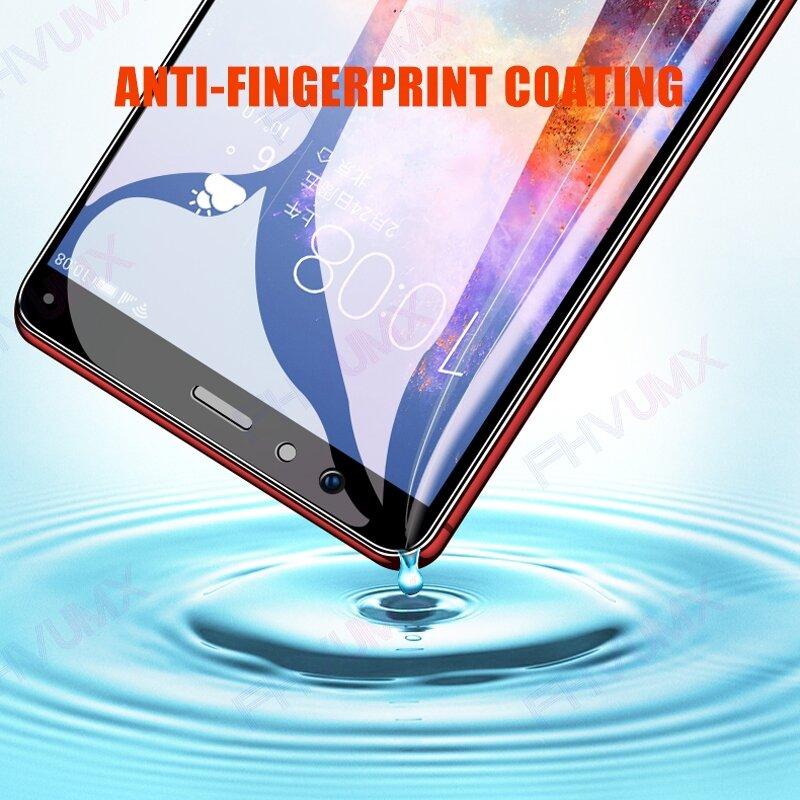 واقي شاشة كامل 9D لهاتف Huawei honor 7X 7A 7S 7C V9 ، طبقة حماية لهاتف Honor 8 9 Lite view 10 V10