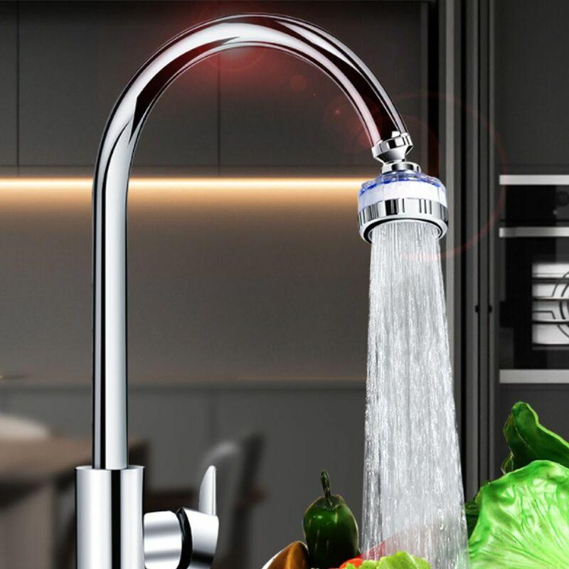 360 درجة تدوير توفير المياه الحنفية splacproof صنبور تصفية المياه مهوية فوهة تنقية المياه اكسسوارات المطبخ المنزل