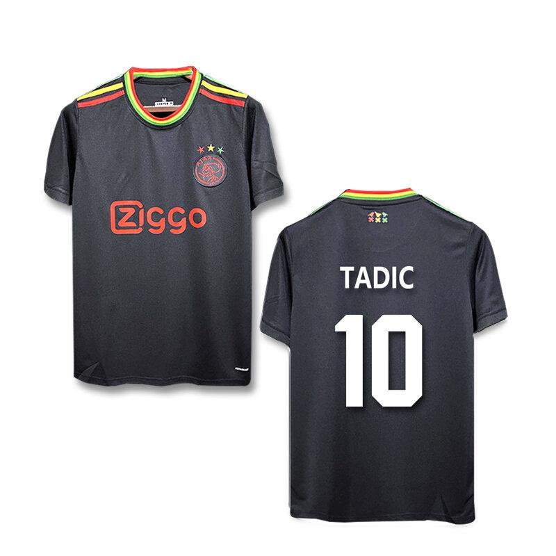 2021 2022 Ajax بعيدا قميص كرة القدم تاديك نيريس TAGLIAFICO كلاسين ألفاريز هنتيلار ألفاريز قمصان كرة القدم الزي الرسمي في الأوراق المالية