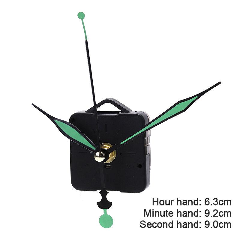 1 آلية حركة كوارتز ساعة صامتة لتقوم بها بنفسك عدة أداة يدوية تعمل بالبطارية