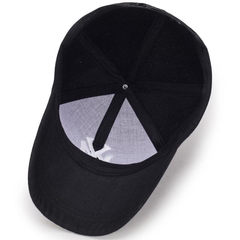2021 جديد في الهواء الطلق قبعة بيسبول رياضية الربيع و الصيف خطابات الموضة المطرزة قابل للتعديل الرجال النساء قبعات موضة الهيب هوب قبعة