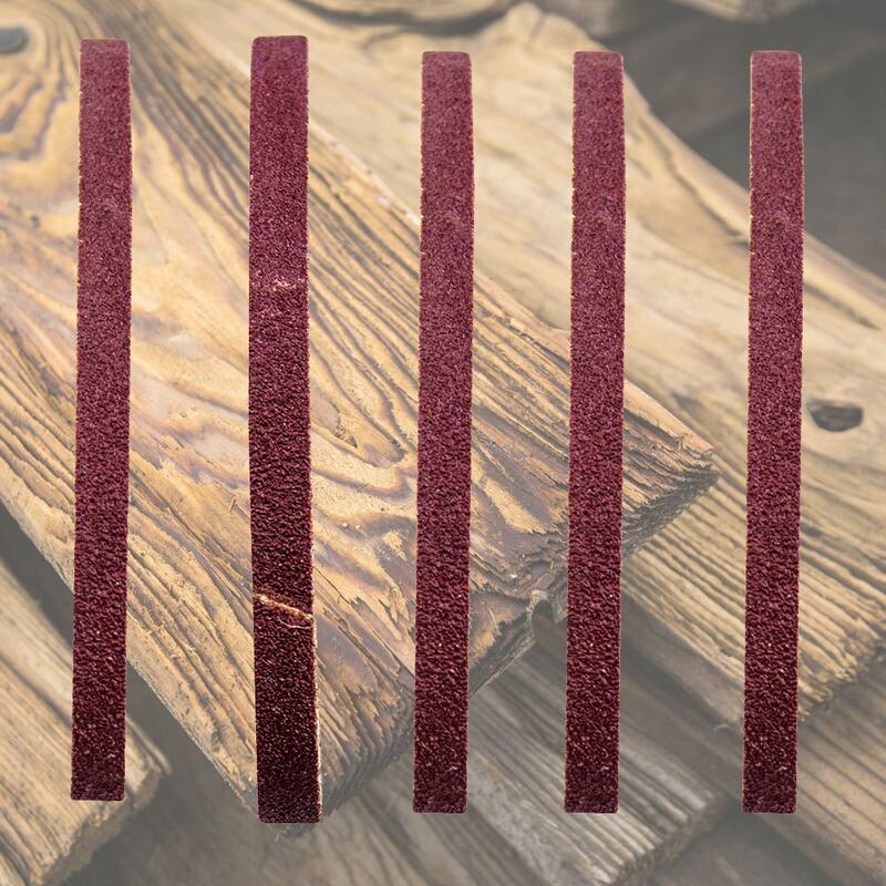 10 قطعة مجموعة أحزمة الرملي 60-1000 حصى متعددة الوظائف طحن وتلميع لاستبدال طاحونة زاوية