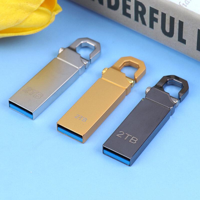 محرك أقراص فلاش USB 3.0 عالي السرعة 2 تيرا بايت قرص ذاكرة تخزين خارجي
