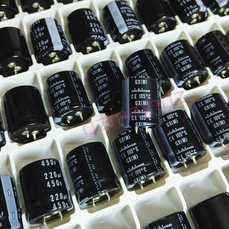 4 قطعة/الوحدة الأصلي nichicon GX سلسلة حمى الصوت تصفية طويل الحياة الألومنيوم كهربائيا مكثف الشحن مجانا