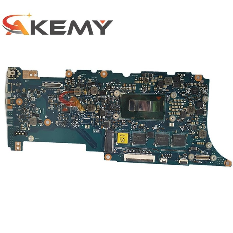 Akemy UX305UAB مع I7-6500 وحدة المعالجة المركزية 8GB RAM اللوحة الأم ل ASUS UX305UAB المحمول اللوحة الرئيسية 100% اختبار OK