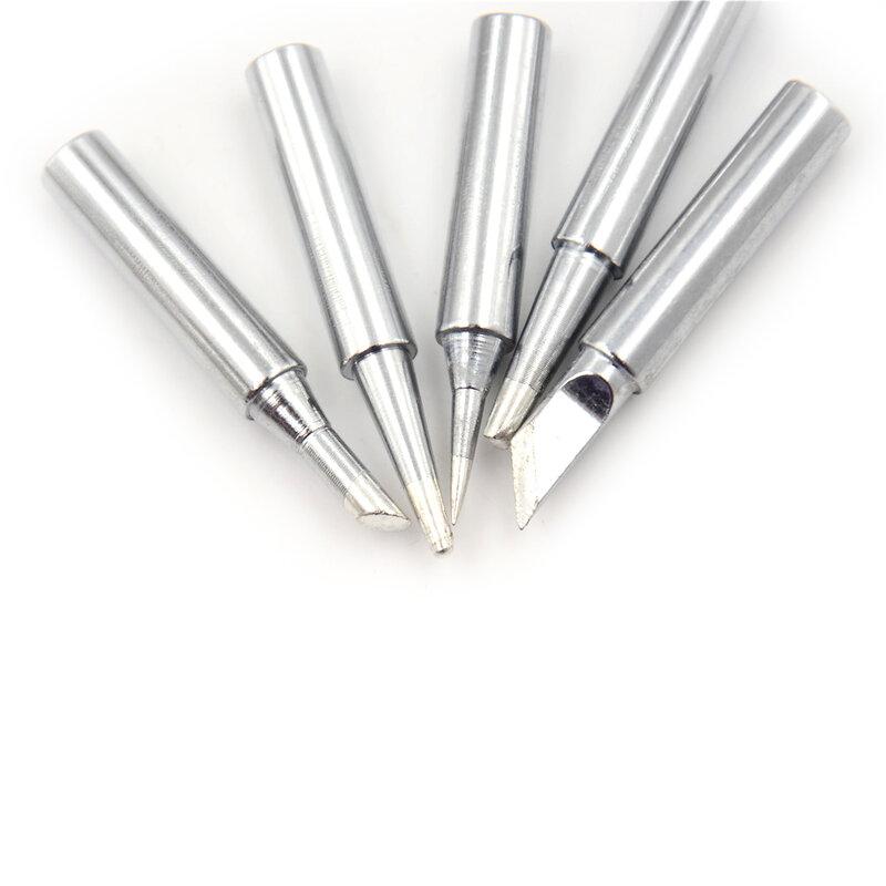 5 قطعة 60W اللحيم الحديد تلميح لحام الحديد الكهربائية P36 لحام محطة مخروطي شطبة