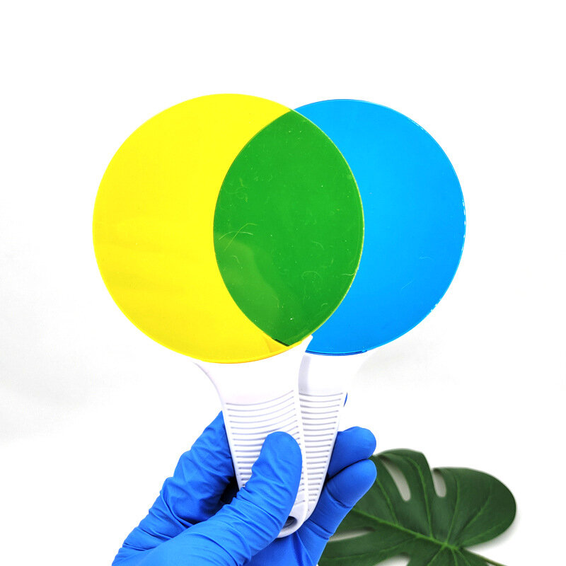ألعاب علمية اللون ثلاثة ألوان أساسية مرشح ضوء لوحة مرشح اللون لعبة المعرفية التعليم العلوم تجربة وسائل تعليمية