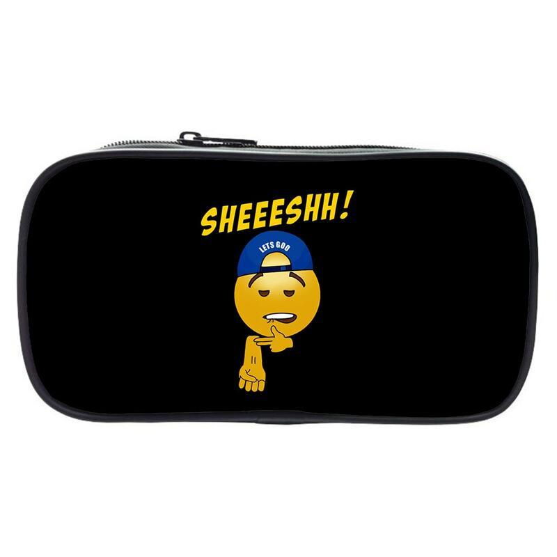 Sheesh مقلمة طالب متعددة الوظائف حقيبة أدوات مكتبية صبي فتاة قلم رصاص صندوق سعة كبيرة حقيبة مستحضرات تجميل الاطفال العودة إلى المدرسة هدية