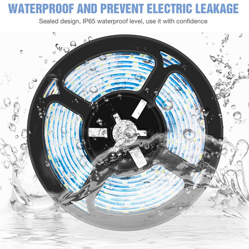 الجليد الأزرق تنمو شرائط مصباح USB 5V شاشة ليد بطيف كامل مرنة PhytoLamp 0.5m 1m 2m 3m للماء زهرة فيتو مصباح ل الدفيئة