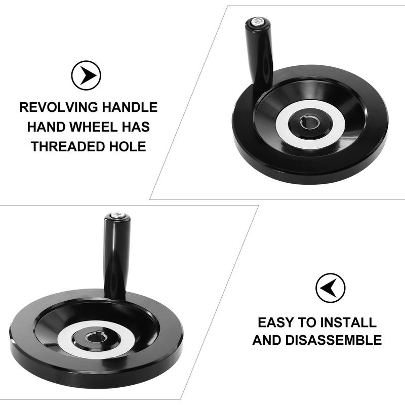 عجلة يدوية مستديرة الميكانيكية عجلة اليد آلة أداة الباكليت عجلة اليد