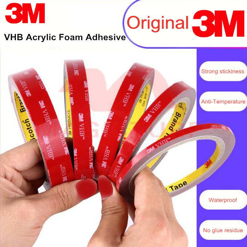 لا آثار 3M VHB 5608 جهين الشريط رغوة الاكريليك لاصق قوي المضادة درجة الحرارة للماء/الثقيلة/في الهواء الطلق/داخلي/أداة