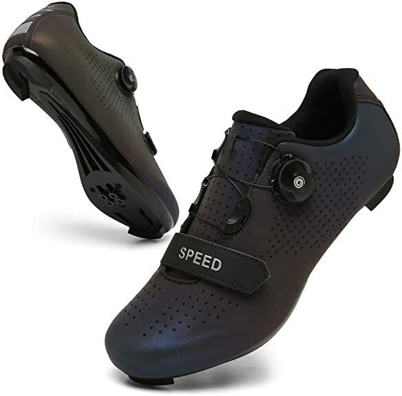رياضة وترفيه-حذاء ركوب الدراجة, حذاء رجالي لركوب الدراجة الجبلية، للرياضة في الهواء الطلق، حذاء للدراجة، قفل ذاتي محترف، حذاء دراجة سباق، حذ...
