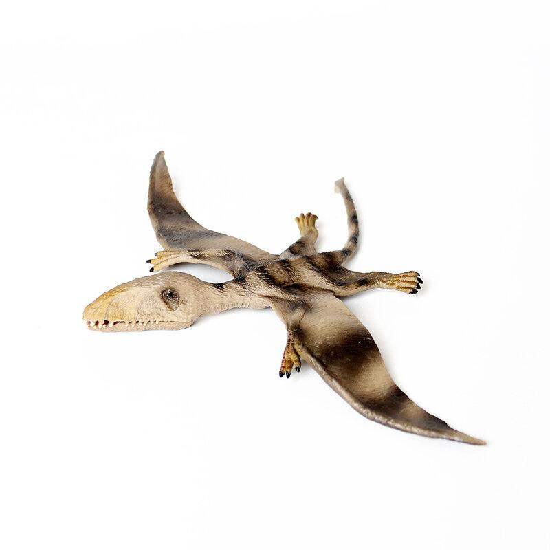 محاكاة أشكال حيوانات الديناصور لعبة الكلاسيكية Pterodactyl عمل أرقام Pteranodon الآثار نماذج للحيوانات جمع اللعب