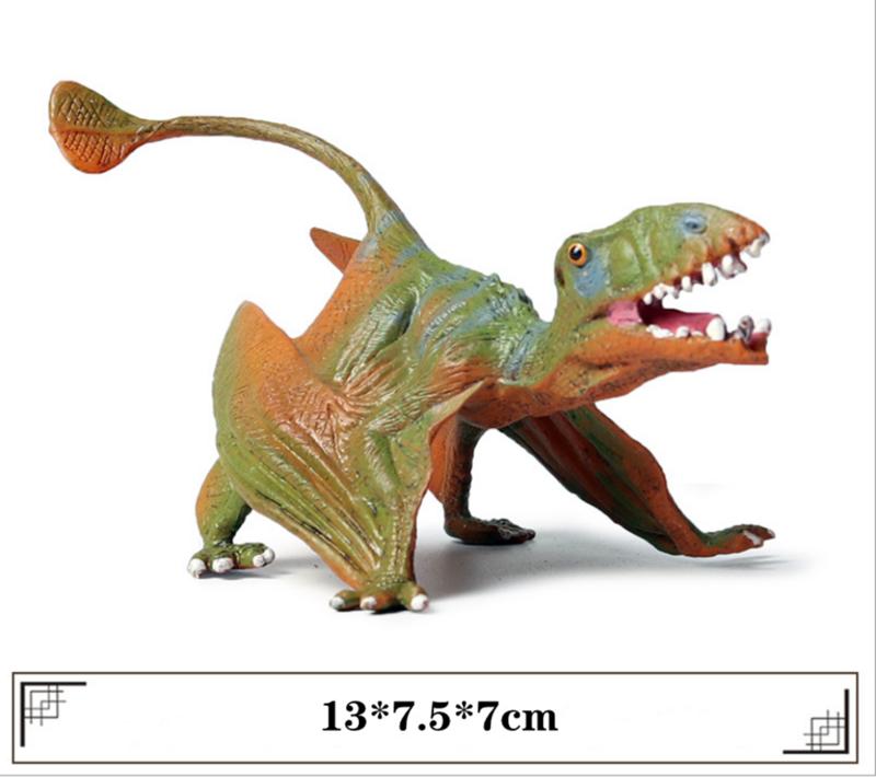 Pterhexur Anhanguera Pterodactyl الشكل ديناصور لعبة مجسمة جامع ديكور هدية محاكاة الجوراسي ديناصور أرقام لعبة