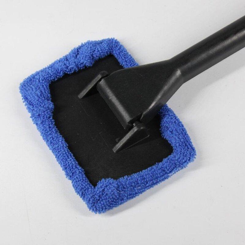 ممسحة تنظيف الزجاج الأمامي للسيارة ، فرشاة تنظيف الزجاج الأمامي والضباب ، منفضة الغبار ، للمنزل والمكتب ، للنوافذ