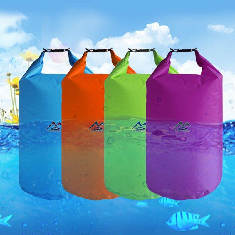 5L/10L/20L/40L في الهواء الطلق حقيبة جافة مقاوم للماء حقيبة جافة كيس مقاوم للماء العائمة أكياس والعتاد الجاف للقوارب الصيد تجمع السباحة