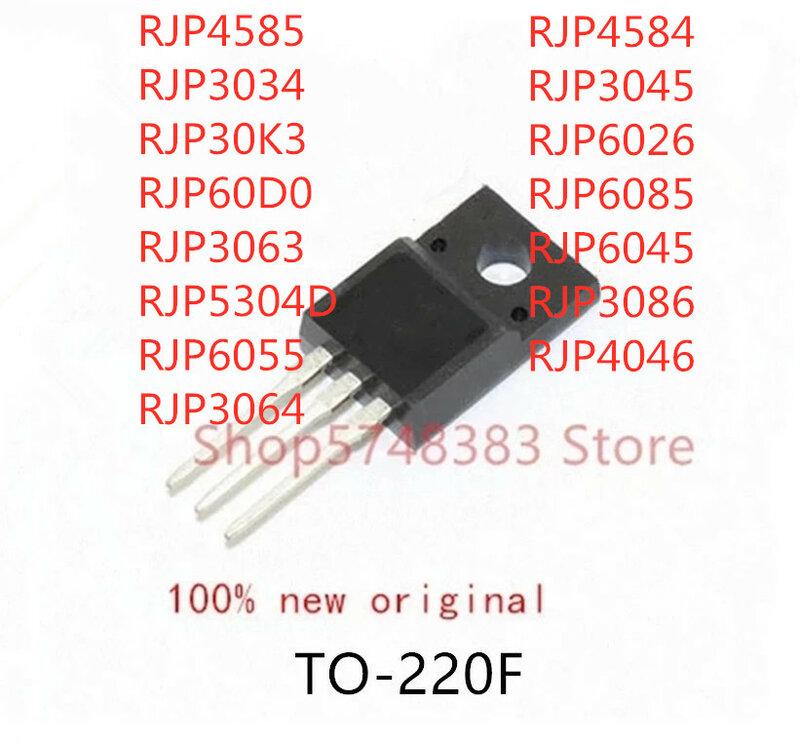 10 قطعة RJP4585 RJP3034 RJP30K3 RJP60D0 RJP3063 RJP5304D RJP6055 RJP3064 RJP4584 RJP3045 RJP6026 RJP6085 RJP6045 RJP3086 RJP4046