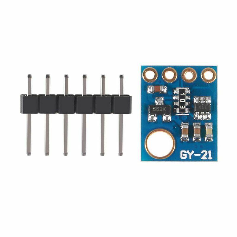 Aokin 5 قطعة Si7021 GY-21 SHT21 HTU21 الرطوبة الرقمية استشعار درجة الحرارة CMOS IC وحدة استبدال SHT11 SHT15 لاردوينو منخفضة الطاقة