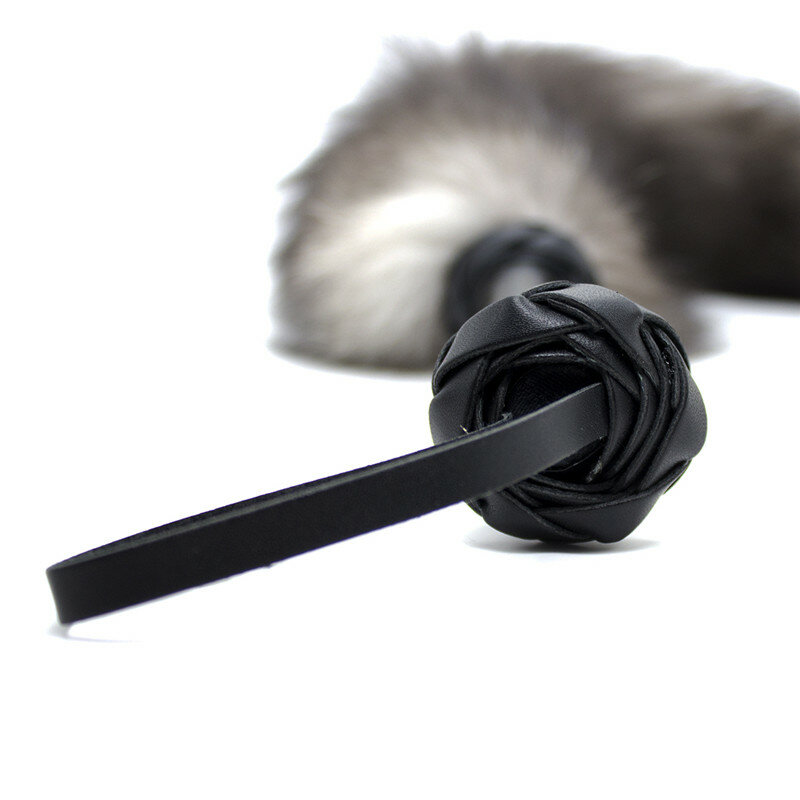 ألعاب جنسية جلد الجنس سوط الثعلب الذيل عبودية سوط الجنس الرقيق التعذيب الجلد BDSM عبودية القيود صنم الجنس لعب للأزواج