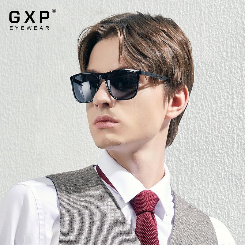 GXP 2021 بوتيك TR90 الإطار الألومنيوم الرجال القيادة الاستقطاب النظارات الشمسية النساء مربع ظلال UV400 عدسة Oculos دي سول