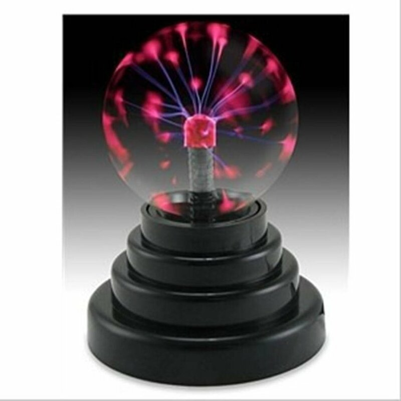 2019 USB كرة بلاوما كهرباء المجال ضوء ماجيك كريستال مصباح الكرة سطح المكتب البرق حفلة عيد الميلاد لمسة حساسة أضواء