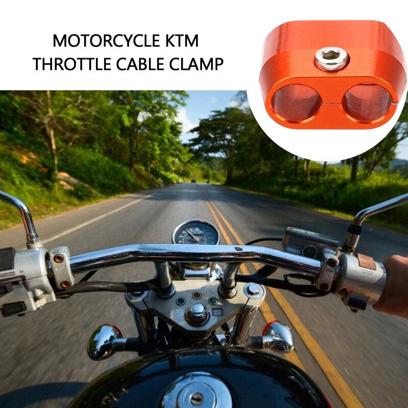 واقي كابل الخانق للدراجات النارية ، مشبك كابل الألومنيوم ، ملحقات دراجة نارية KTM