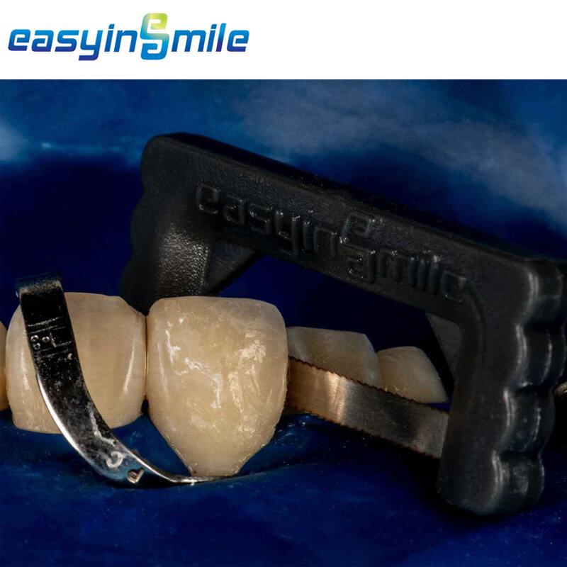 10 قطعة شرائط تخفيض تقويم الأسنان بين الداني منشار 0.01 مللي متر EASYINSMILE تلميع المينا لإزالة وتنظيف