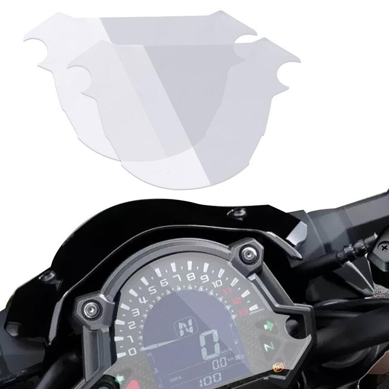 2 قطعة أداة عداد السرعة فيلم لكاواساكي Z900 Z650 2017 حامي الشاشة ملصق العنقودية خدش حماية الفيلم