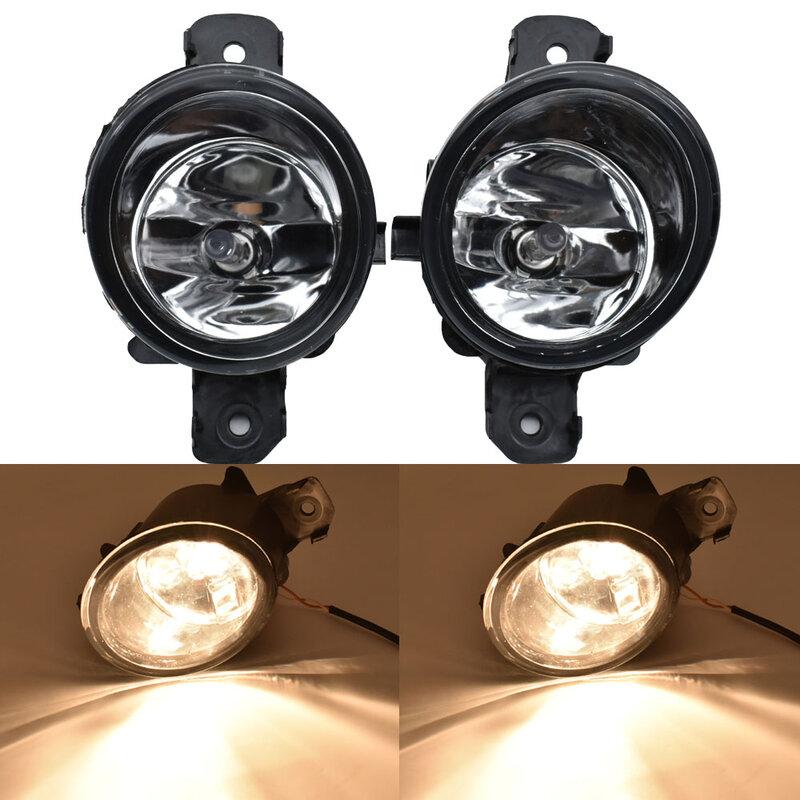 2 × تصفيف السيارة الضباب إضاءة ليد فاتحة النهار تشغيل ضوء 12 فولت لنيسان باثفندر 2013 2014 2015 2016