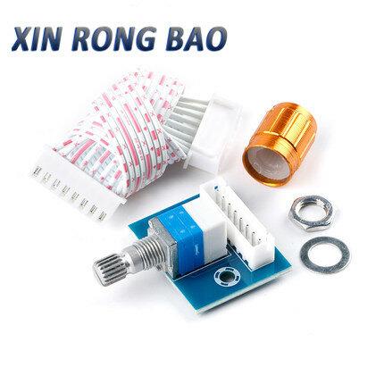 XH-A950 مكبر كهربائي لوحة تركيبية مزدوجة 50K لوحة تحكم مع التبديل حجم مقبض التحكم في مستوى الصوت الجهد