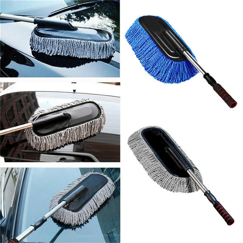 سيارة الغبار فرشاة متعددة الوظائف ستوكات سيارة الغبار تنظيف فرش منفضة ممسحة السيارات المنفضة كان العناية بالسيارات 40x10x5 سنتيمتر jy29