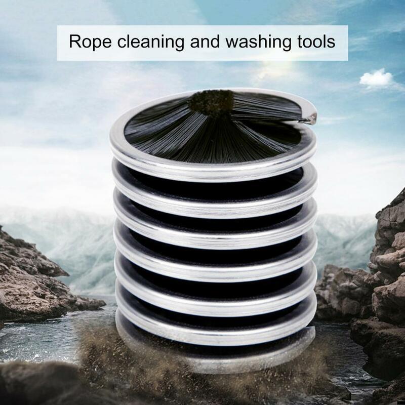 80% هوتالمحمولة رضوخ الحبال غسالات التنظيف فرشاة لتسلق في الهواء الطلق