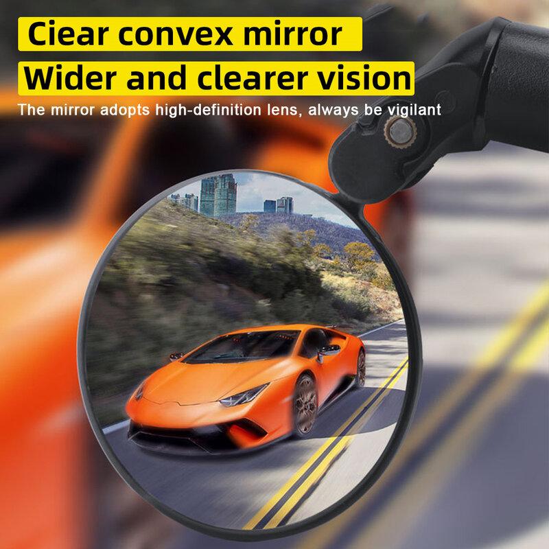 دراجة مرآة الرؤية الخلفية الطريق الجبلية الدراجة طوي مرآة الرؤية الخلفية مرآة عالمية معدات ركوب الخيل