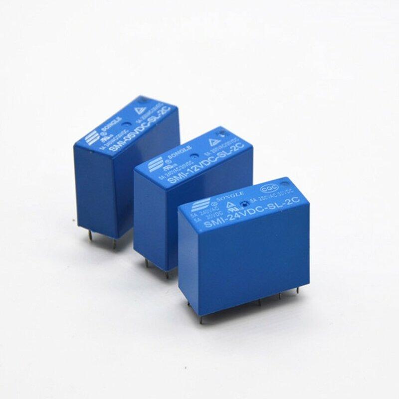 10 قطعة/الوحدة الطاقة التبديلات SMI-24VDC-SL-2C 24V 5A 250VAC/30VDC 8pin جديد الأصلي