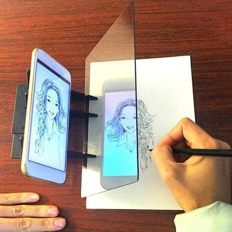 1 قطعة رسم تتبع قطعة أثرية الصورة البصرية رسم العارض انعكاس لوحة أداة بصرية رسم للمبتدئين اللوحة Sket M9F2