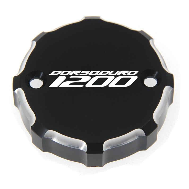 ل ابريليا DOSODURO 1200 ABS 2009-2014 دراجة نارية الجبهة سائل الفرامل خزان غطاء الغطاء